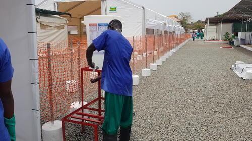 Centre de Traitement des Épidémies de Nongo, à Conakry