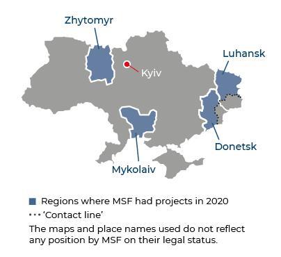 Ukraine Activities 2020