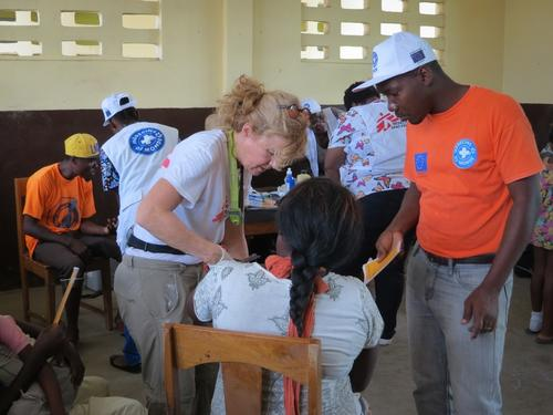 MSF Clinic In  Jérémie, Haiti