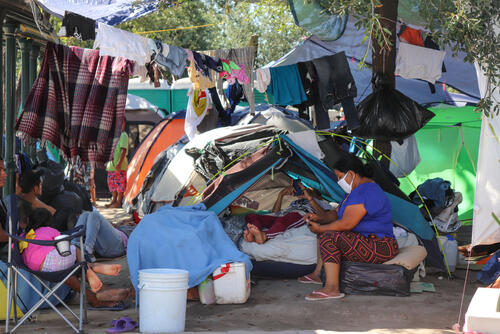 Dire humanitarian situation in the migrant population in Mexico
