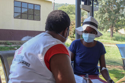 Video Observed Therapy (VOT) training for MDR-TB patients in Matsanjeni health centre