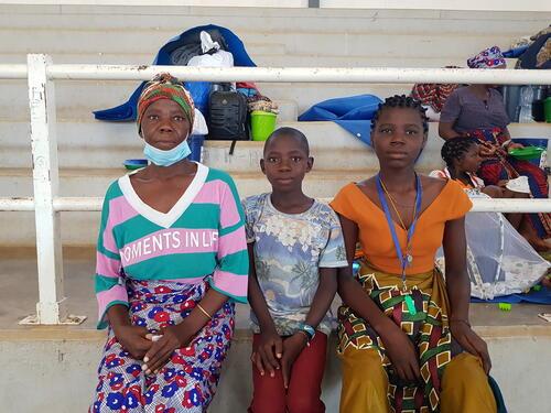 Zainabo Bacar & family