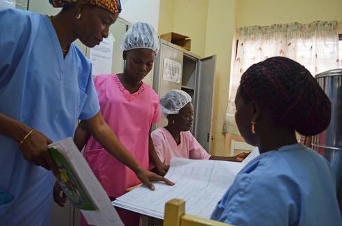 Gbaya Ndombia Maternity Clinic in CAR