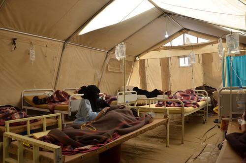 Cholera outbreak in Yemen