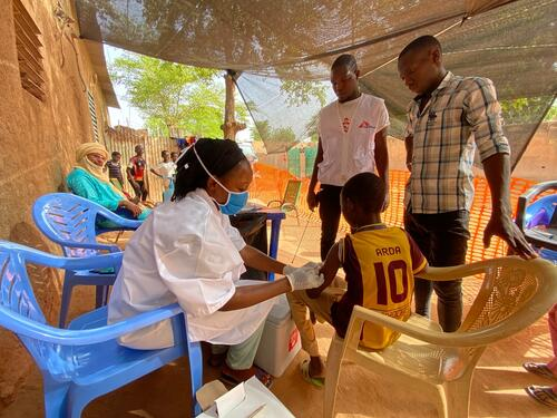 Measles vaccination campaign - Niger May 2021