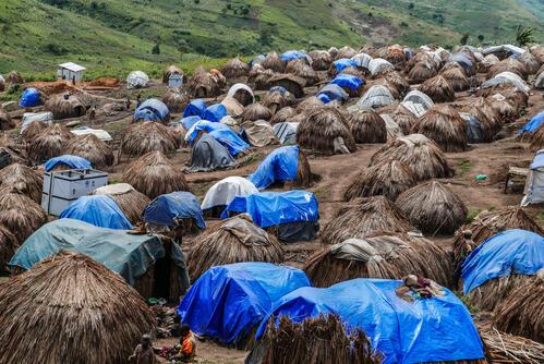 Djugu displaced people, DRC