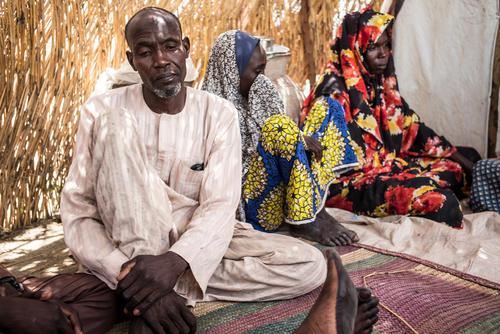 Ngala IDP camp, Nigeria - July 2017