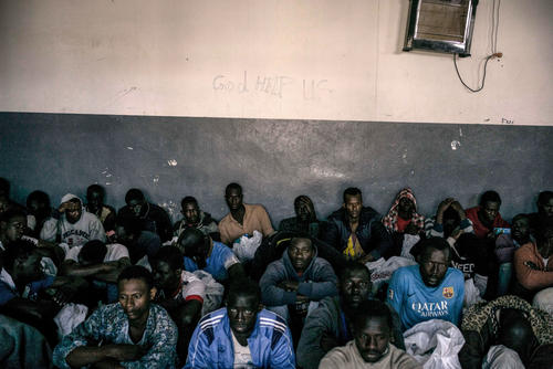 Detention Centres - Tripoli, Libya