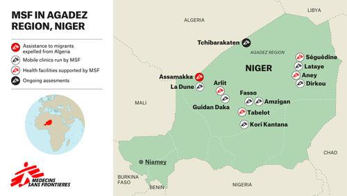MSF in Agadez region, Niger