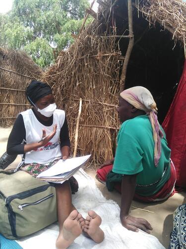 25 de Junho IDP Camp - Cabo Delgado