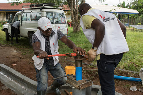 MSF intervention in Cross River State