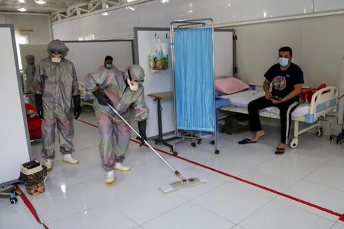 MSF coronavirus COVID-19 response in Mosul