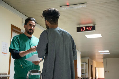 MSF cares for wounded protesters in Baghdad