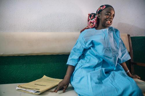 Hadiza, noma survivor