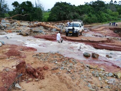 MSF response to cyclone Idai in Chimanimani - Zimbabwe