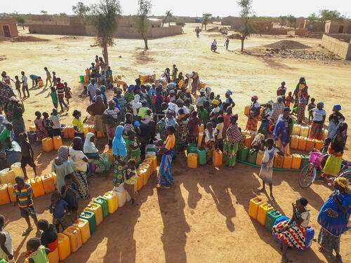 Djibo, Watertrucking activities