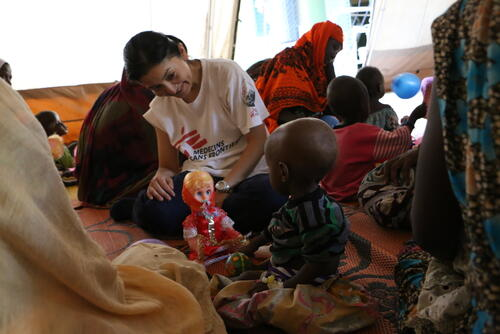 MSF IN CHAD: TACKLING MALNUTRITION IN AM TIMAN