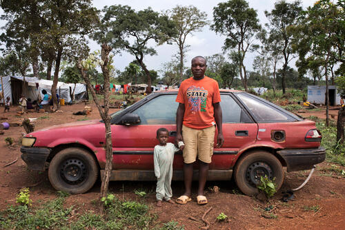 Adagom refugee settlement, Cross River State