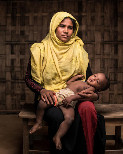 Mental Health: Rohingya Trauma and Resilience - Rohima Story