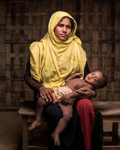 Mental Health: Rohingya Trauma and Resilience - Rohima Story