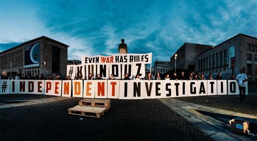 Kunduz 1 Month After Commemoration - Brussels