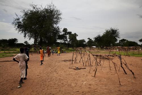 IDP Camps South Sudan July 2013