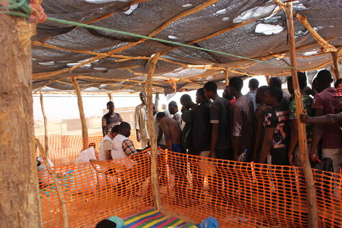 People on the move in Assamaka, Agadez