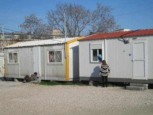 Eleonas refugee camp in Athens