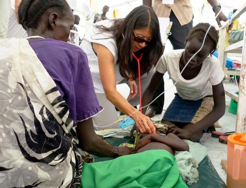 Dr. Joanne Liu visit South Sudan