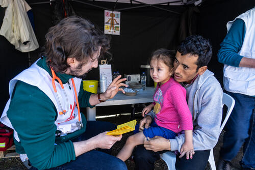 Pneumonia vaccination - Greek islands