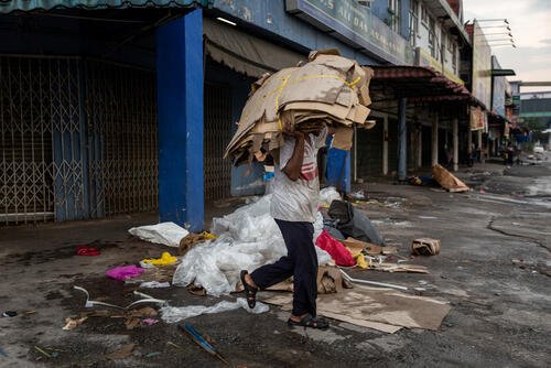 Rohingya in Malaysia: Market