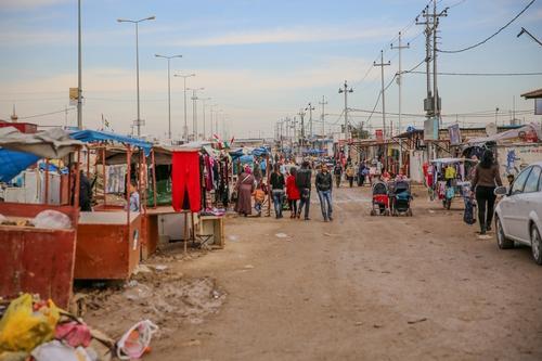 Iraq - Domiz Syrian refugee camp