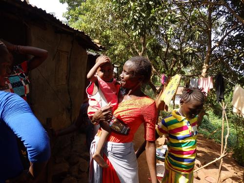 Sierra Leone - Aminata Sankoh, from critical condition to caretaker