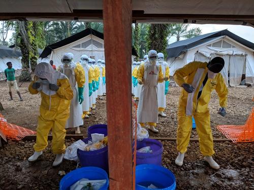 Ebola Treatment Center (ETC) in Mangina