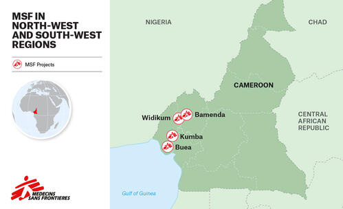MAP – MSF action in North-West and South-West Cameroon – ENG