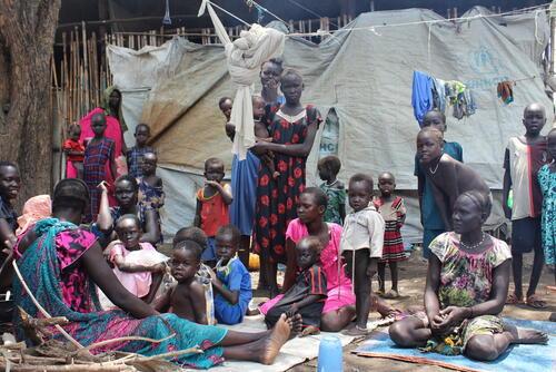 South Sudanese Refugees | Pagak Reception Centre