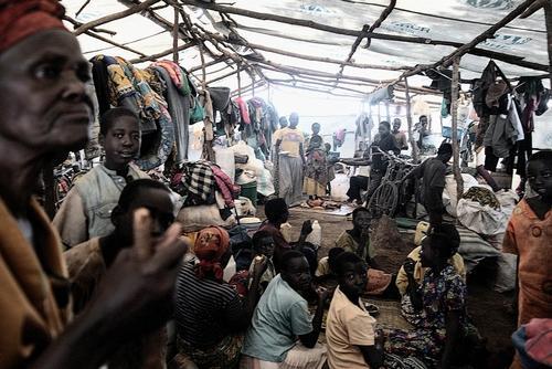 Tanzania - Burundian refugees in Nyarugusu camp