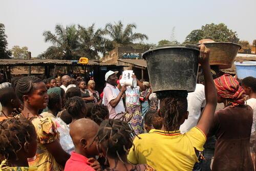 Cholera intervention Mbuji Mayi