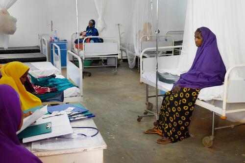 Addressing health needs of women and children in Baidoa