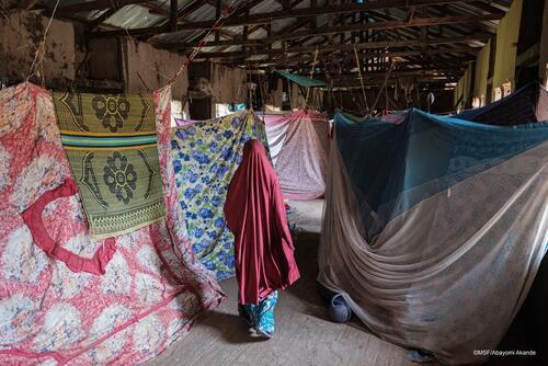 IDP camp in Anka