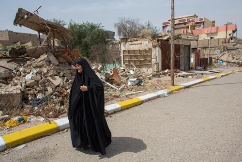 Jalawla town, northeast Iraq