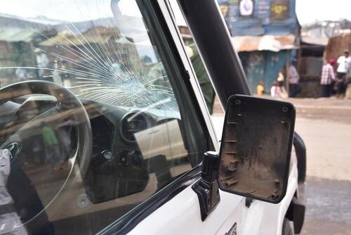 MSF ambulance attacked in Mathare, Nairobi