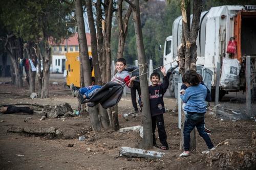 Syrian Refugees Harmanli Bulgaria