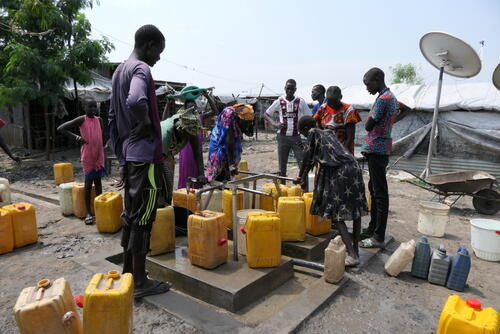 Hepatitis E, AWD and WASH in Bentiu IDP camp, South Sudan