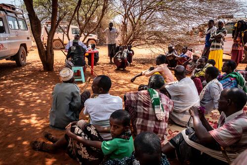 MSF Mobile Clinics and Tea Teams Somali Region