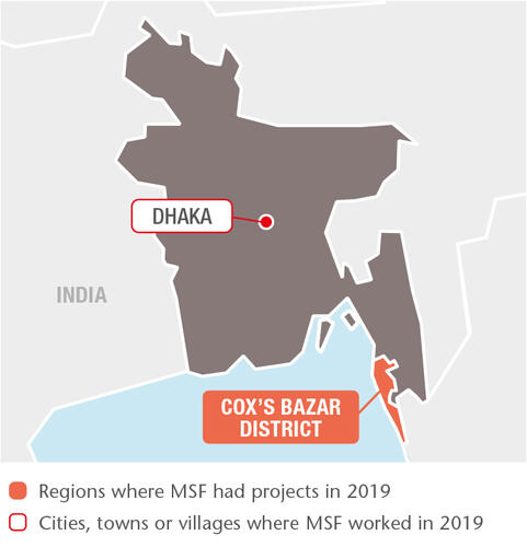 Bangladesh MSF Projects in 2019
