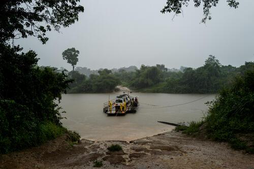 MSF mobile clinics - Nzacko