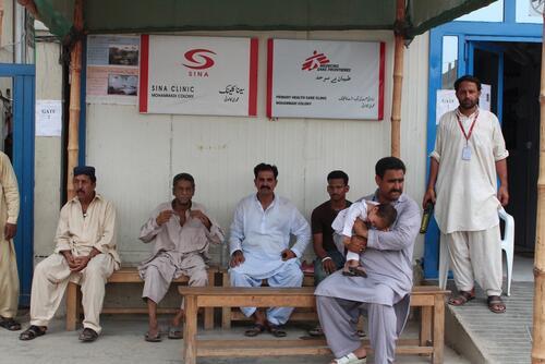 Machar Colony clinic, Karachi