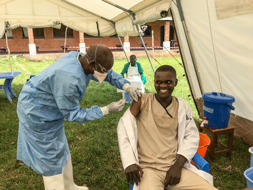 Ebola Vaccination in Bikoro