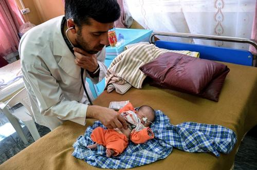 Dasht-e-Barchi public district hospital in Kabul